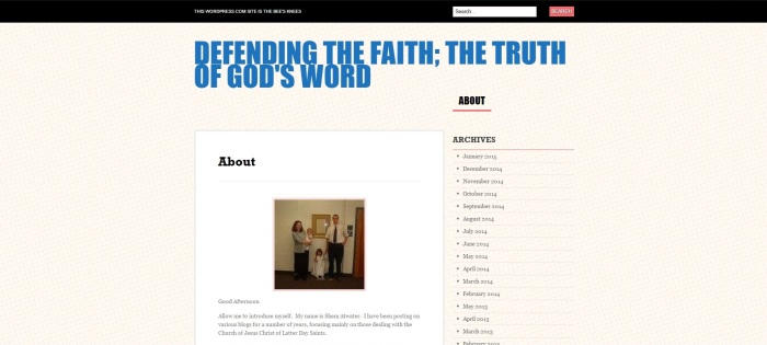 Defending God's Words