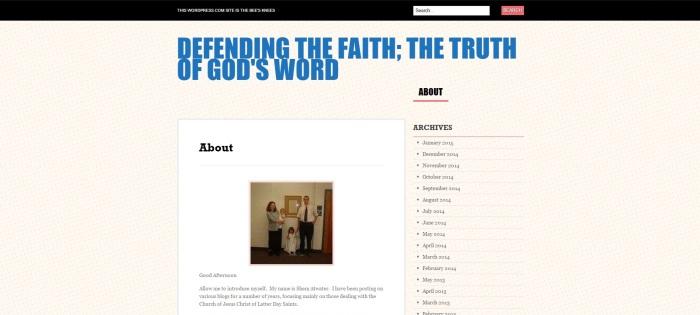 Defending God's Words